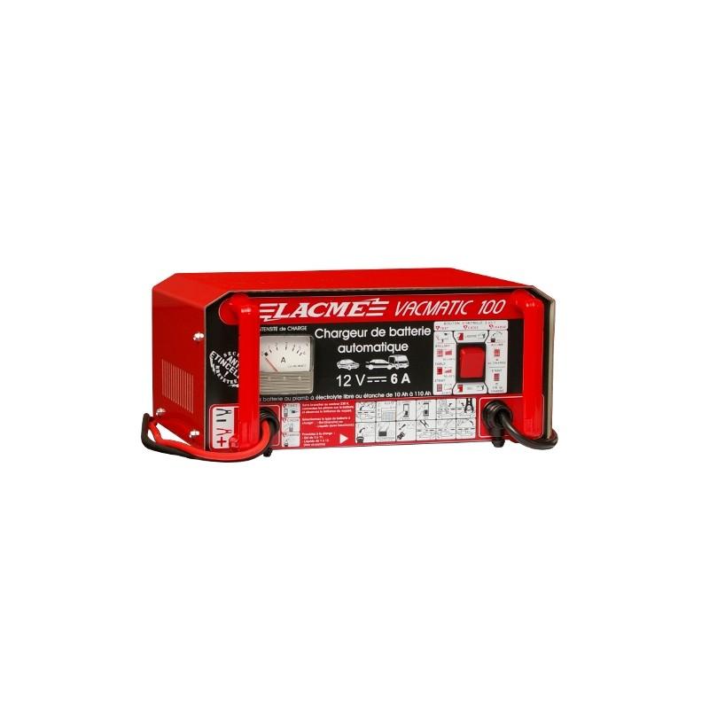 Chargeur Batterie Lacme 12V VAC MATIC 100
