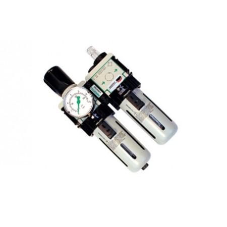 Ensemble Filtre & régulateur & lubrificateur cedrey SAD12