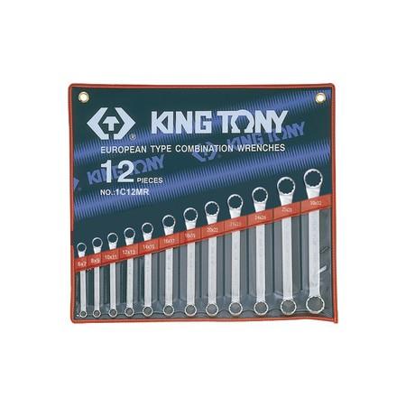 Trousse de clés polygonales droites métriques - 12 pièces