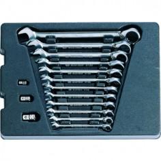 Module Servante clés mixtes à cliquet réversible - 15 pièces King tony