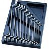 Module Servante cclés polygonales - 11 pièces King tony