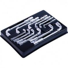 """Module Servante clés à pipe """"6x12 pans"""" - 12 pièces King tony"""