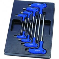 Module Servante clés mâles TORX® et RESISTORX® - 8 pièces King tony
