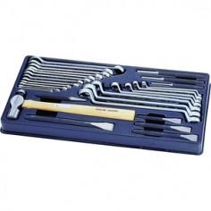 Module Servante clés en pouces et d'outils de frappe - 28 pièces King tony