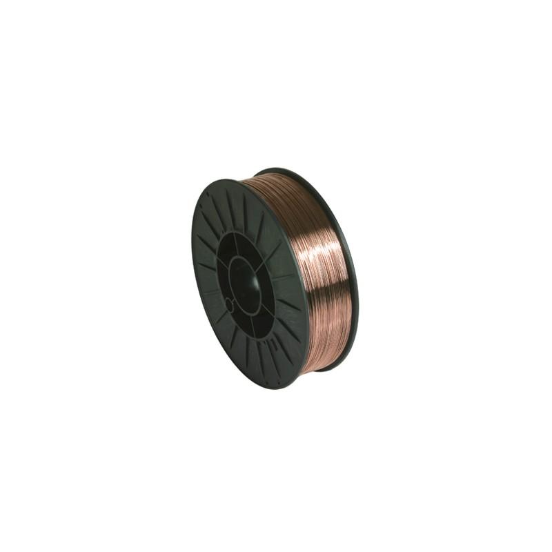 Bobine de fil plein Ø 200 mm, Acier, Ø 0,6, 5 Kg