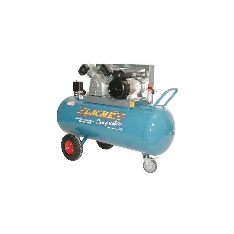 Compresseur Mono 150 Litres Lacme Comprestar 20 V 150 M