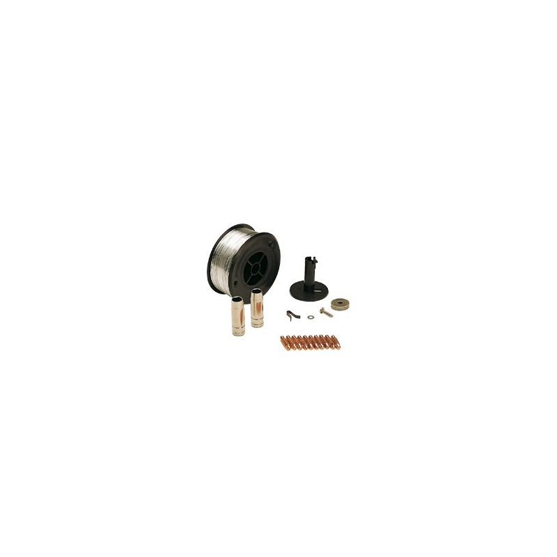 KIT SOUDAGE ACIER INOX D. 0,8 MM cod. 802037