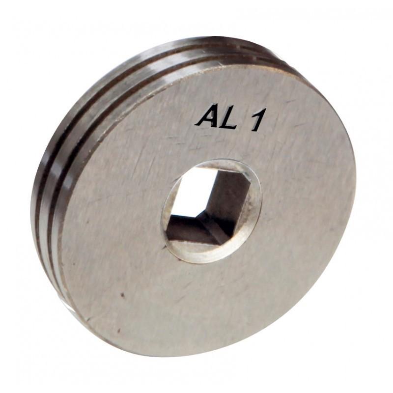 GALET 1.0mm alu fil fourre