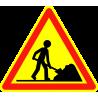 Panneaux de signalisation routière AK5 Travaux