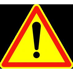 Panneaux de signalisation routière AK14 Autres dangers