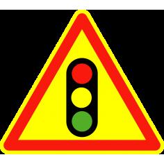 Panneaux de signalisation routière AK17 Annonce de signaux lumineux
