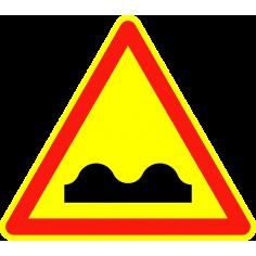 Panneaux de signalisation routière AK12 Annonce Cassis, dos d'âne