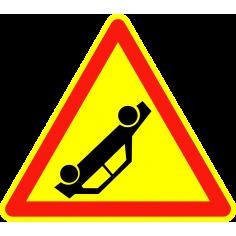 Panneaux de signalisation routière AK31 Annonce Accident