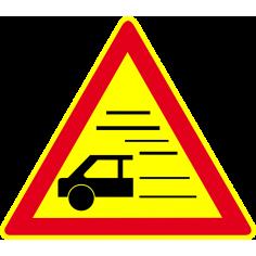 Panneaux de signalisation routière AK32 Annonce Annonce de nappes de brouillard ou de fumées épaisses