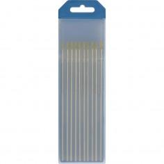 10 électrodes tungstene WL15 ø1.6 AC/DC