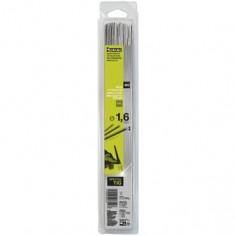 Baguettes métal d'apport TIG - INOX 308L- Ø 1,6 - BLISTER de 60 pièces