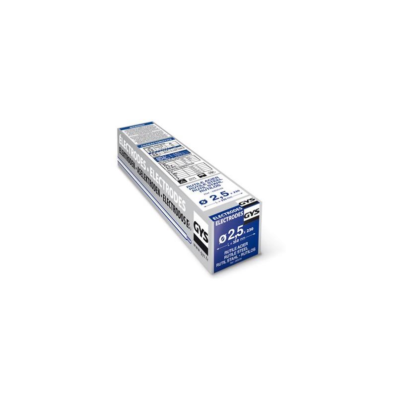 Etui de 230 électrodes rutiles, Ø 2,5 mm