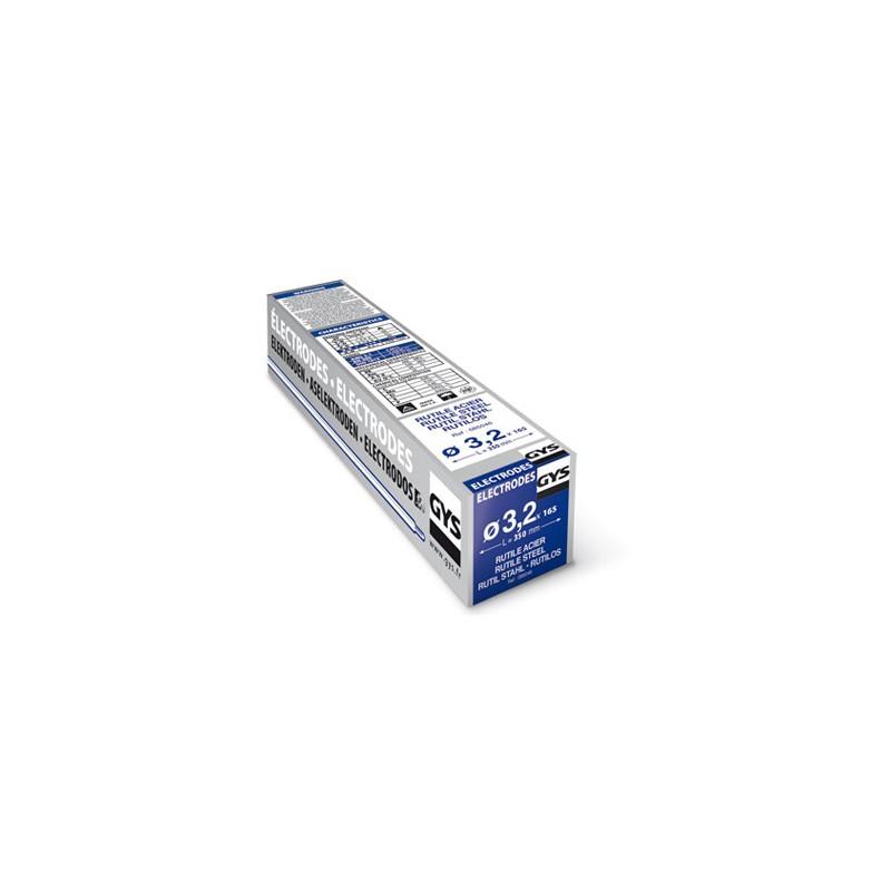 Etui de 165 électrodes rutiles, Ø 3,2 mm